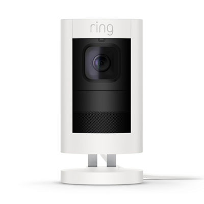 Ring Stick Up Cam Wired Indoor/Outdoor Security Camera
