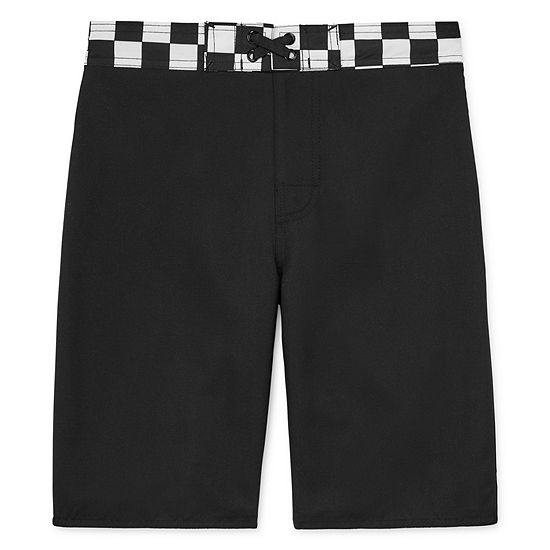 Arizona Boys Checked Swim Trunks Preschool / Big Kid