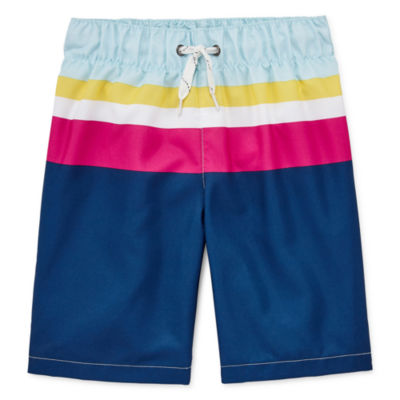 City Streets Boys Swim Trunks Preschool / Big Kid