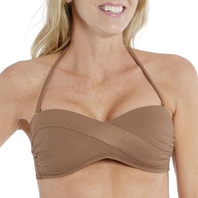 Mynah Bandeau Bikini Swimsuit Top