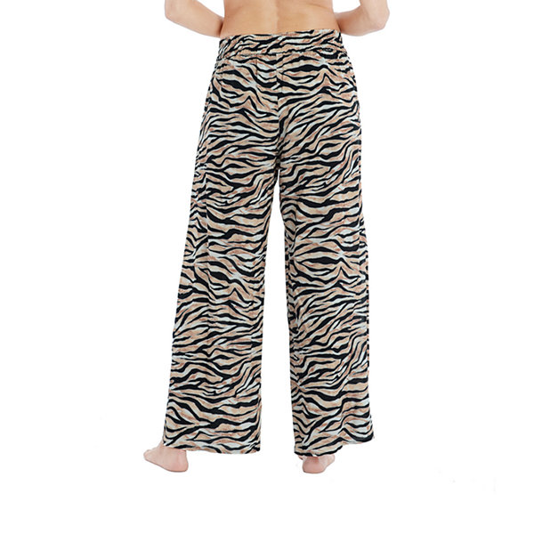 Mynah Animal Pants Swimsuit Cover-Up