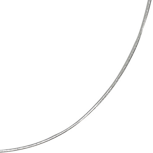 "16-24"" Silver-Plated Round Magic Chain"