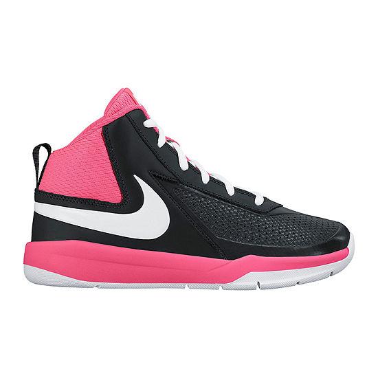 Nike Team Hustle D 7 Girls Basketball Shoes Little Kids Big Kids JCPenney 71b1c0dc5