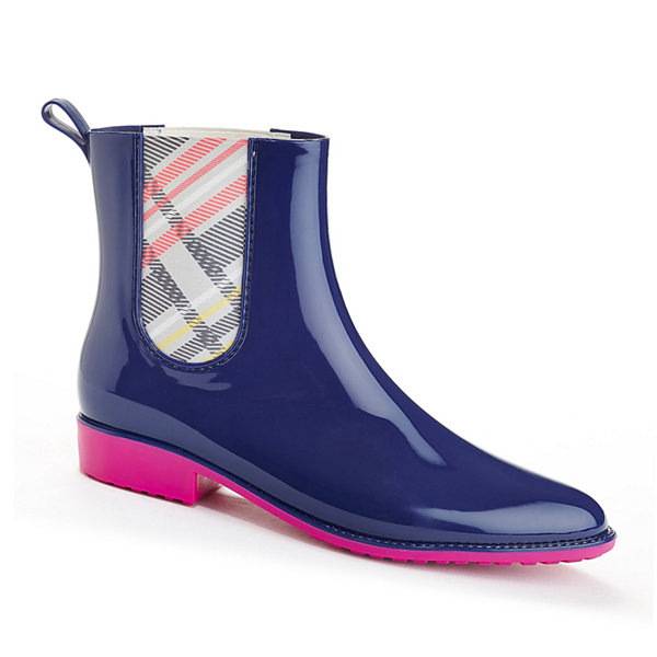 Henry Ferrera Clarity 800 Short Plaid Rain Boots