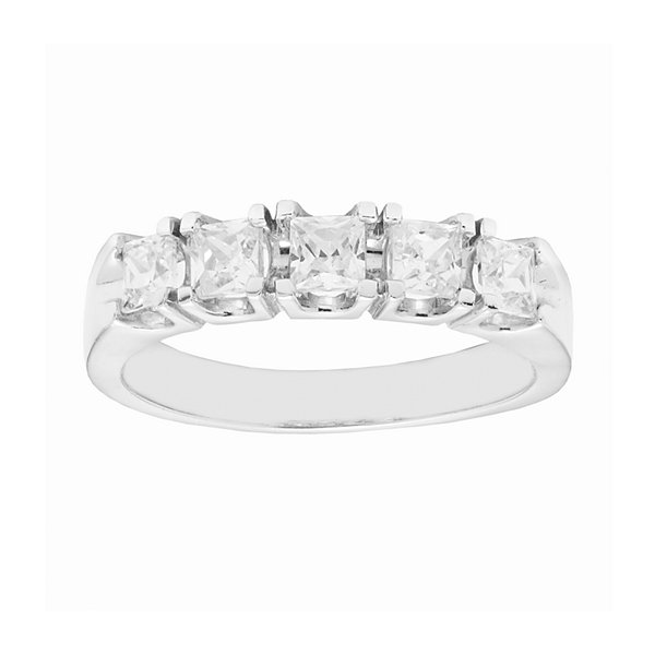 LIMITED QUANTITIES 1 CT. T.W. Diamond 14K White Gold Ring