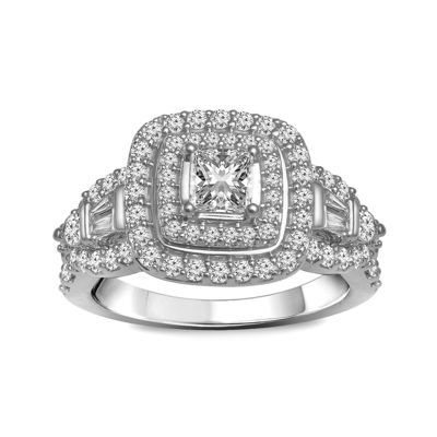 LIMITED QUANTITIES 1 1/4 CT. T.W. Diamond 14K White Gold Engagement Ring