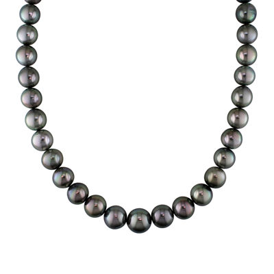 "11-13mm Genuine Tahitian Pearl 18"" Strand Necklace"