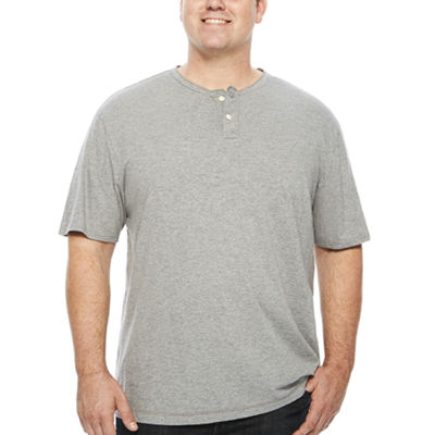 The Foundry Big & Tall Supply Co.™ Short-Sleeve Henley Shirt