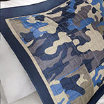 Mi Zone Andrew Camo Coverlet Set