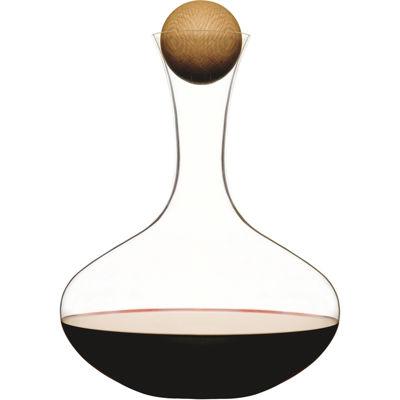 Sagaform® Large Wine Carafe with Oak Stopper