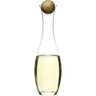 Sagaform® Wine Carafe with Oak Stopper