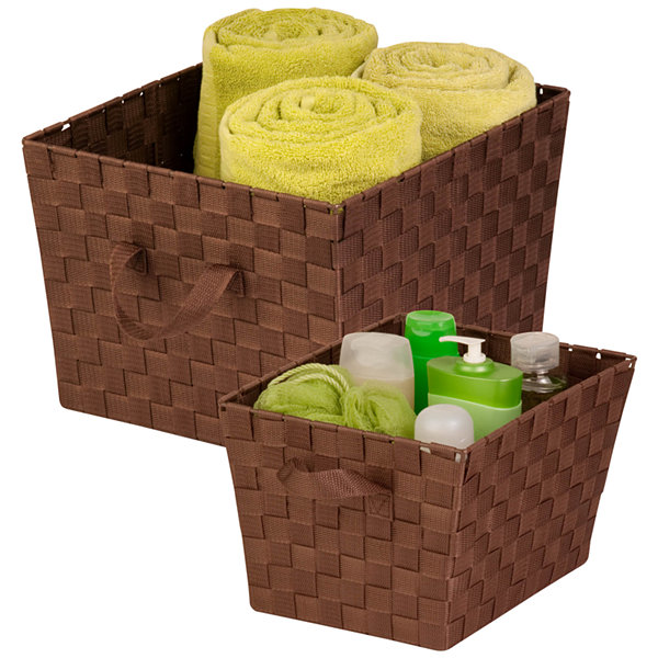 Honey-Can-Do® 2-pc. Woven Basket Set