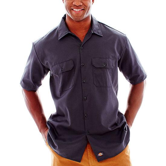 62e01a2d07d Dickies Short Sleeve Work Shirt Big   Tall JCPenney