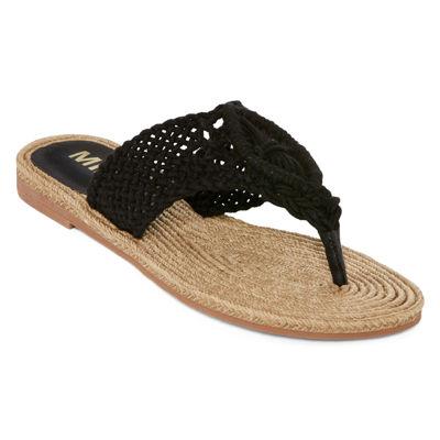 Mia Girl® Nefeli Macrame Flip Flops
