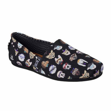 Skechers Bobs Bobs Pup Smarts Womens Slip-On Shoes