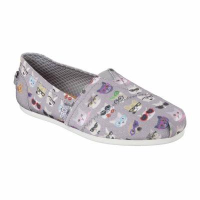 Skechers Bobs Womens Kitty Smarts Slip-On Shoe Closed Toe