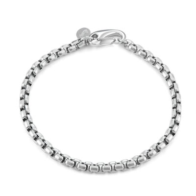 Stainless Steel 9 Inch Box Chain Bracelet