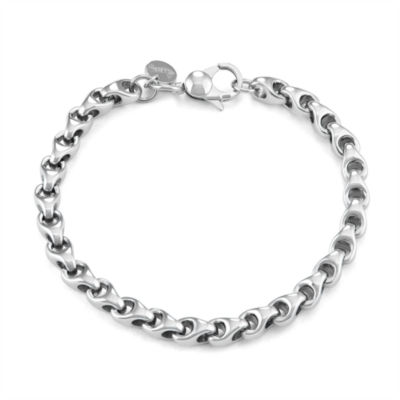 Stainless Steel 9 Inch Link Chain Bracelet