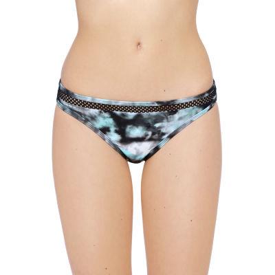 Xersion Tie Dye Hipster Swimsuit Bottom