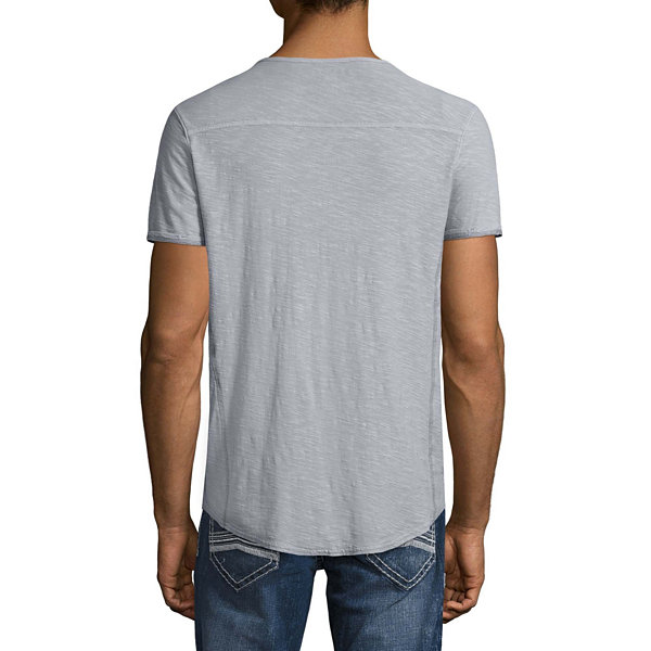 Decree Short Sleeve Henley Shirt