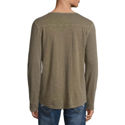 Decree Long Sleeve Henley Shirt
