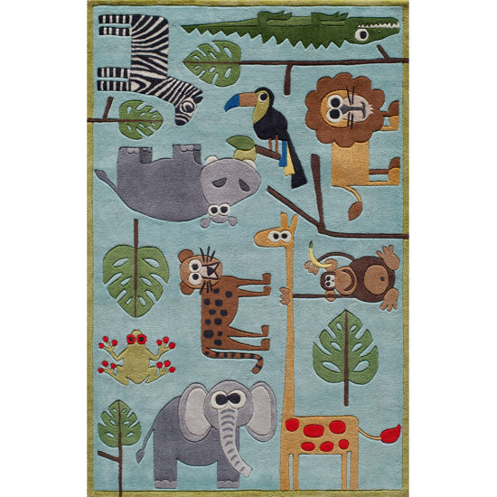 Momeni Lil Mo Safari Hand Tufted Rectangular Rugs