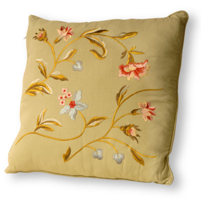 National Tree Co. Spring Square Throw Pillow