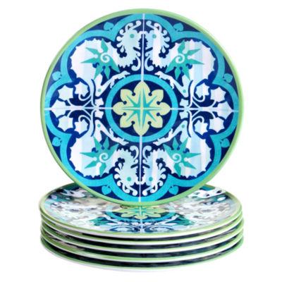 Certified International Granada 6-pc. Salad Plate