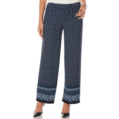 Rafaella Crepe Pull-On Pants