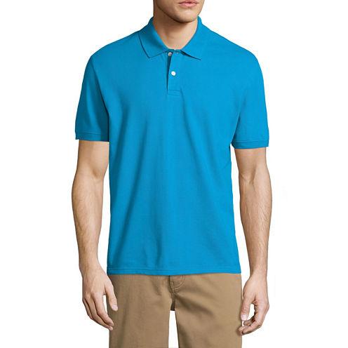 City Streets Short Sleeve Pique Polo Shirt