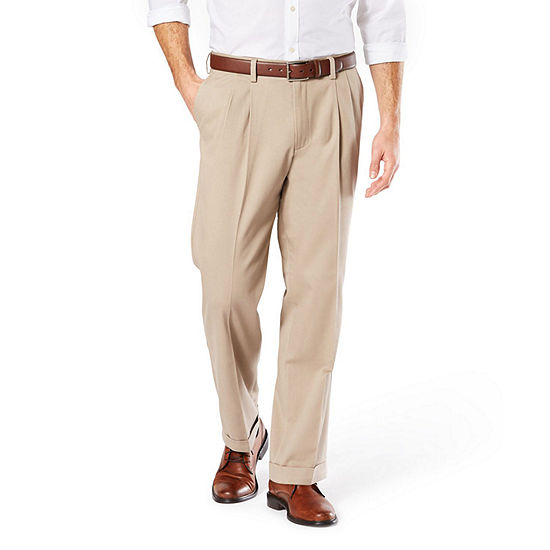 Dockers® Relaxed Fit Easy Comfort Pants D4 - Pleated