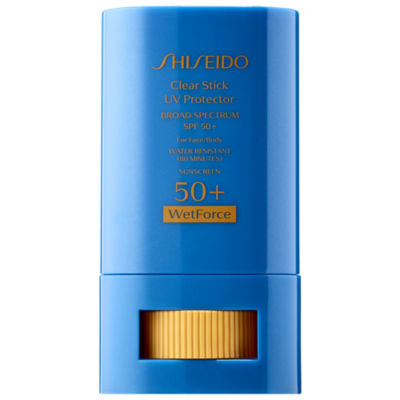 Shiseido Wetforce Clear Stick UV Protector Broad Spectrum 50+