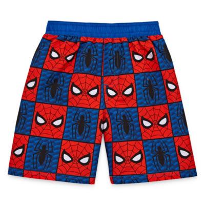 Boys Spiderman Trunks-Toddler