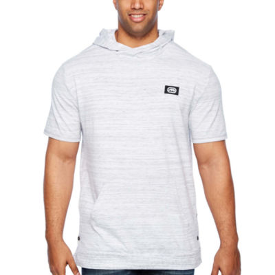 Ecko Unltd Short Sleeve French Terry Hoodie-Big and Tall