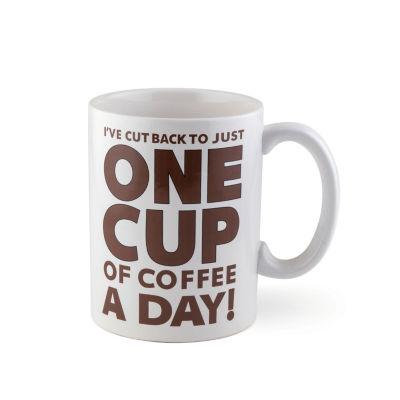 Big Mouth One Cup of Coffee Mug