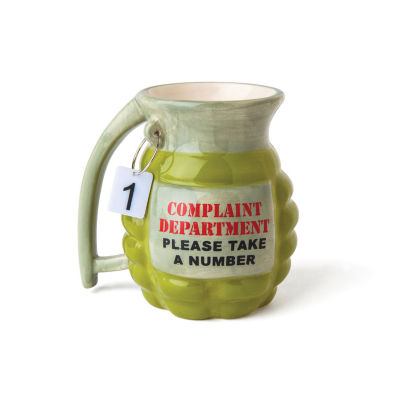 Big Mouth Complaint Department Coffee Mug