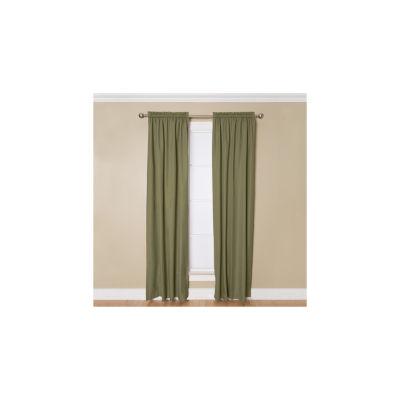 Miller Curtains Winston Room-Darkening Rod-PocketCurtain Panel