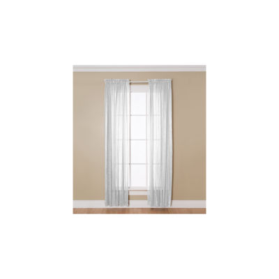 Miller Curtains Aria Rod-Pocket Curtain Panel