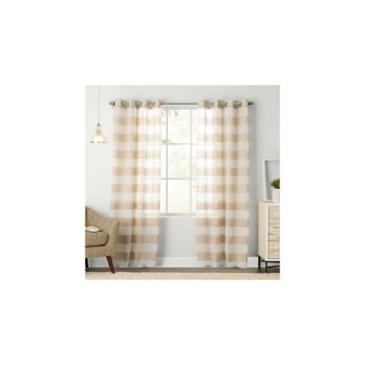 Miller Curtains Arlen Grommet-Top Curtain Panel
