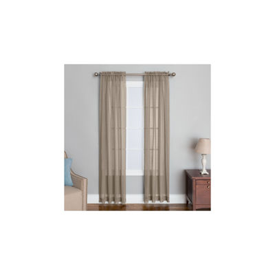 Miller Curtains Bali Rod-Pocket Curtain Panel