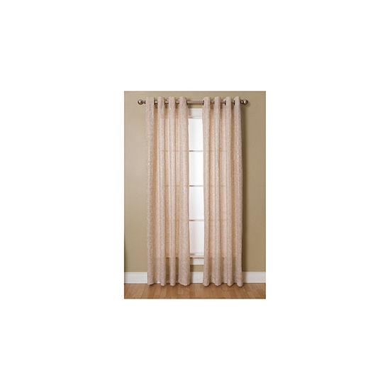 Miller Curtains Kailey Grommet-Top Curtain Panel