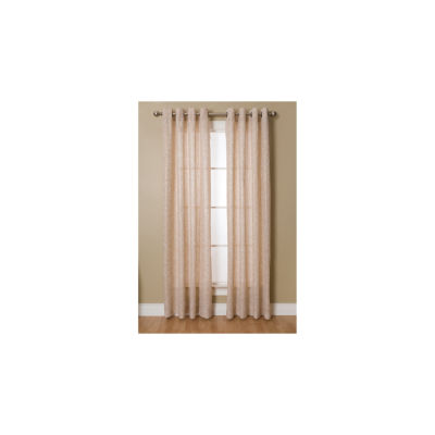 Miller Curtains Kailey Grommet-Top Curtain Panel