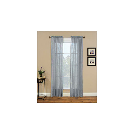 Miller Curtains Kemin Rod-Pocket Curtain Panel