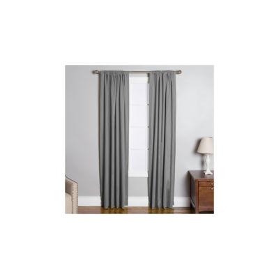 Miller Curtains Lee Rod-Pocket Curtain Panel