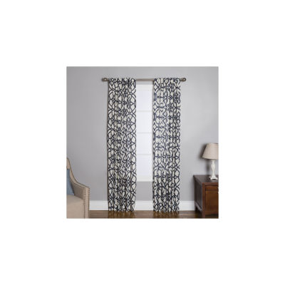 Miller Curtains Othelo Rod-Pocket Curtain Panel