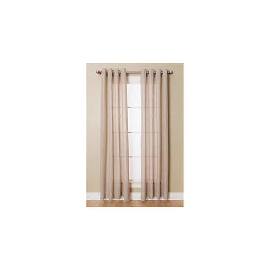 Miller Curtains Flynn Grommet Top Curtain Panel