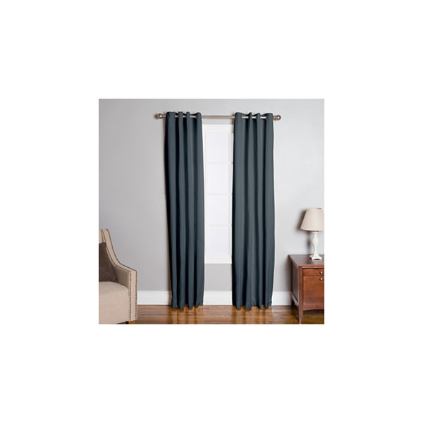 Miller Curtains Halley Grommet-Top Curtain Panel
