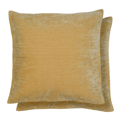 Caviaggio 2 Pack Square Throw Pillow