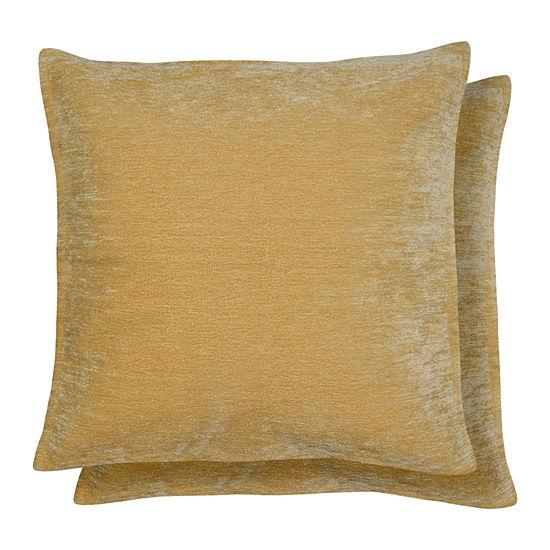 Caviaggio 2 Pack Square Throw Pillow