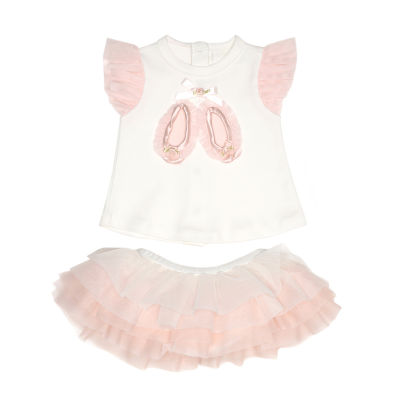 Nanette Baby 2-pc. Skirt Set Baby Girls